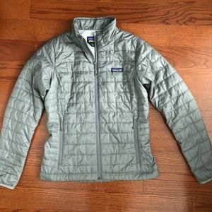 Patagonia Women's Nano Puff Jacket in Feather Grey
